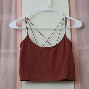 Cotton: On Cropped Tank
